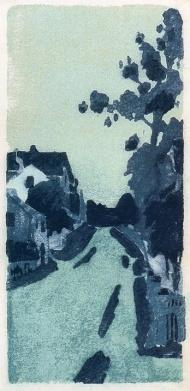 Ipswich Street by Arthur Wesley Dow (1895)